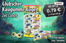 Angebot: Glubscher Kaugummi Augen von Zed Candy für 0,79 Euro, 66,9g, Streichpreis 0,99 Euro, zzgl. Versand, inkl. MwSt. - zum Bestellen hier klicken