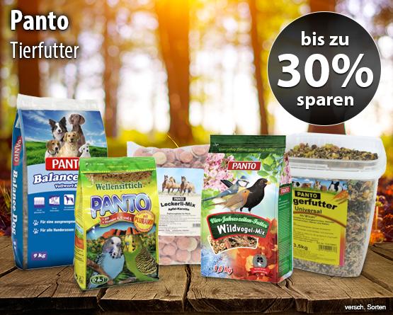 Bis zu 30% auf Panto Produkte - zum Bestellen hier klicken