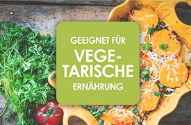 Entdecken Sie unsere große Vielfalt an vegetarischen Produkten - zur Ansicht hier klicken