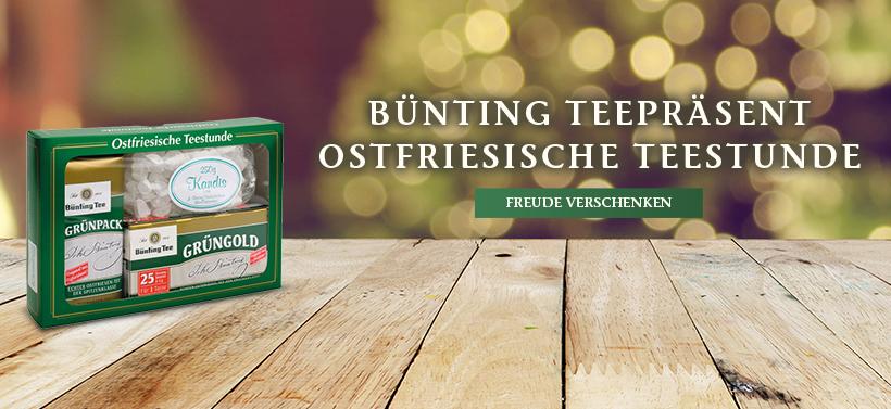 Bünting Teepräsent Ostfriesische Teestunde