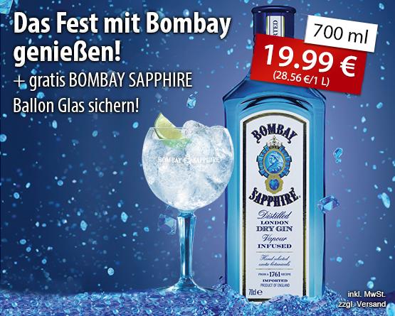 Das Fest mit Bombay genießen! - zum bestellen hier klicken