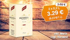 Angebot: Henkell Sekt trocken (2x0,2l), Angebotspreis 3,29 Euro, Streichpreis 3,69 Euro, inkl. MwSt., zzgl. Versand - zum Kaufen hier klicken!