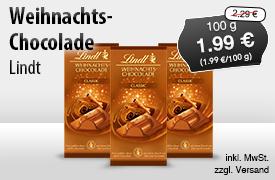 Entdecken Sie Lindt Weihnachtsschokolade! - zum Bestellen hier klicken
