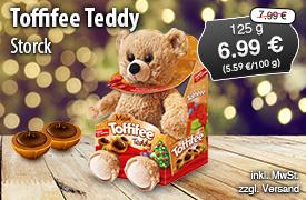 Angebot: Storck Toffifee Teddy (125g), Angebotspeis: 7,29 Euro, Streichpreis: 7,99 Euro inkl. MwSt., zzgl. Versand - zum Bestellen hier klicken