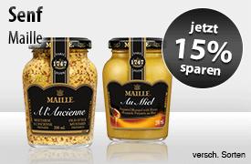 Jetzt 15% auf Maille Dijon Senf sparen! - zum Bestellen hier klicken