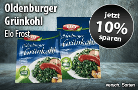 Angebot: Jetzt 10% auf Elo Frost Oldenburger Grünkohl sparen! - zum Bestellen hier klicken