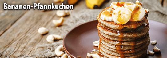 Bananen Pfannkuchen - zum Rezept hier klicken!
