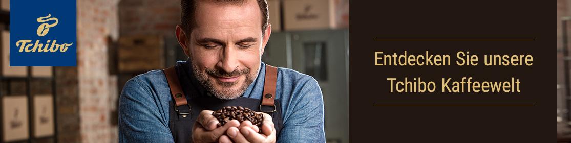 Entdecken Sie unsere Tchibo Kaffeewelt