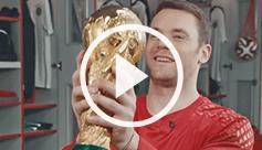 TV Spot Manuel Neuers Pokalgeschichte