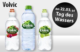 Angebot: Volvic Mineralwasser (ab 500ml), Preis ab 0,75 Euro, versch. Sorten, inkl. MwSt., zzgl. Versand - zum Bestellen hier klicken