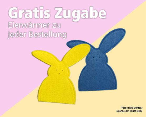 Zugabe: Bei jeder Bestellung erhalten Sie Eierwaermer gratis dazu - Zum Bestellen hier klicken