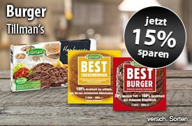 Angebot: Sparen Sie 15 Prozent auf Tillmans Produkte - zum Bestellen hier klicken