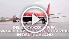 Coca-Cola FIFA World Cup Trophy Tour 2018 - Hier siehst du die Highlights.