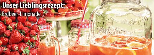 Rezept: Erdbeer-Limonade