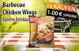 Angebot: Sparen Sie 1,00 Euro auf Sprehe Feinkost Barbecue Chicken Wings - zum Bestellen hier klicken