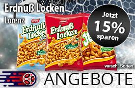 Angebot: Sparen Sie 15 Prozent auf Lorenz Erdnussflocken - Zum Bestellen hier klicken