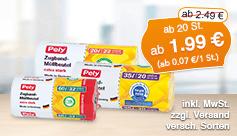 Angebot: Pely Zugband Muellbeutel, ab 20 Stk., Angebotspreis ab 1,99 Euro, Streichpreis ab 2,49 Euro, zzgl. Versand, inkl. MwSt., versch. Sorten - zum Kaufen hier klicken!