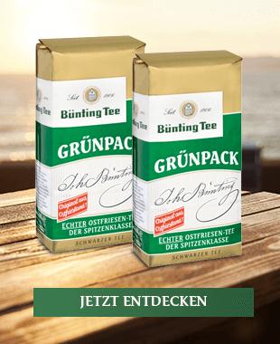 Bünting Grünpack Tee (500 g)