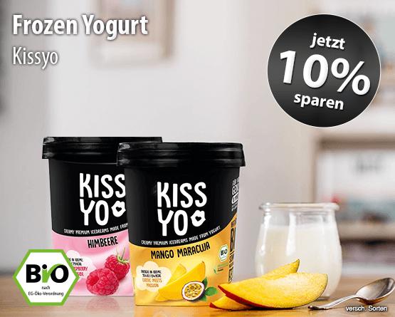 Angebot: Sparen Sie 10 Prozent auf Kissyo Frozen Yoghurt- Zum Einloesem hier klicken