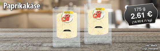 Landkaese Paprikakaese, 175 g, Preis: 2,61 Euro, zzgl. Versand, inkl. MwSt. - zum Bestellen hier klicken