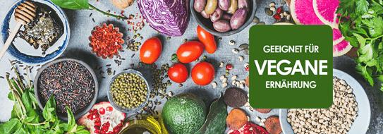 Entdecken Sie unsere große Vielfalt an veganen Produkten - zur Ansicht hier klicken