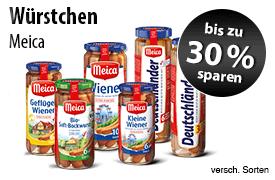 Angebot: Sparen Sie bis zu 30 Prozent auf Meica Wuerstchen - zum Bestellen hier klicken