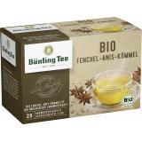 Bünting Bio Fenchel-Anis-Kümmel <nobr>(20 x 3 g)</nobr>