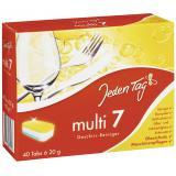 Jeden Tag 7 Multi Geschirr-Reiniger Tabs