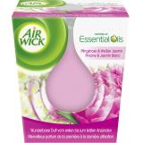 Air Wick Essential Oils Duftkerze Pfingstrose & Weißer Jasmin
