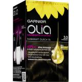 Garnier Olia Dauerhafte Haarfarbe 3.0 Dunkelbraun