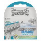 Wilkinson Sword Quattro Klingen Titanium sensitive