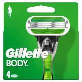 Gillette Body Klingen