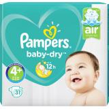 Pampers Baby Dry Gr. 4+ Maxi 9-20kg