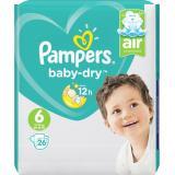 Pampers Baby Dry Gr. 6 extragroß 15+kg