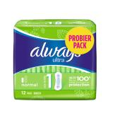 Always Ultra Binden Normal 12 Probierpack