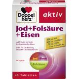 Doppelherz aktiv Jod + Folsäure + Eisen Tabletten