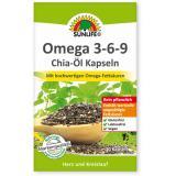 Sunlife Omega 3-6-9 Chia Öl Kapseln