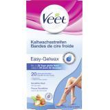 Veet Kaltwachsstreifen Easy-Gelwax sensible Haut