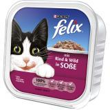 Felix mit Rind & Wild in Soße