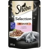 Sheba Selection mit Lachs in Sauce