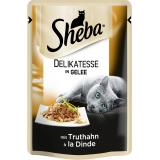 Sheba Delicato mit Truthahn in Gelee