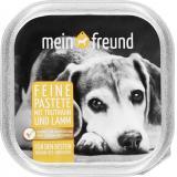 Mein Freund Hund Feine Pastete Truthahn und Lamm