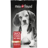 Mein Freund Hund Snack Stange mit Rind 3er