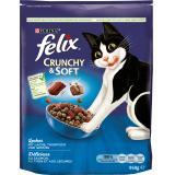 Felix Crunchy & Soft mit Lachs, Thunfisch und Gemüse
