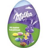 Milka Oster-Ei mit köstlichen Schoko-Linsen