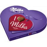 Milka I Love Milka Pralinés Geschenkherz Nuss-Nougat-Créme