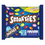Nestlé Smarties Multipack kleine Rolle bunte Schokolinsen  Hexagonrolle
