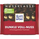 Ritter Sport Nussklasse Dunkle Voll-Nuss