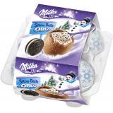 Milka Snowballs Oreo 4er
