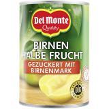 Del Monte Birnen halbe Frucht mit Birnenmark gezuckert